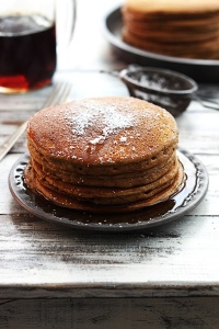 via: http://lecremedelacrumb.com/2014/12/gingerbread-pancakes.html